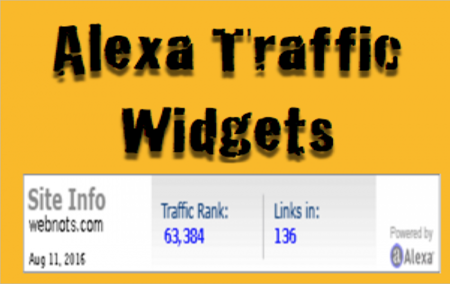 How to Add Alexa Traffic Widget to Your Site?