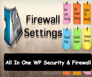 AIOWPS Plugin Firewall Settings