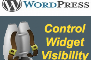 How to Control Widget Visibility in WordPress with Jetpack?