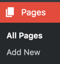 Create Pages in WordPress
