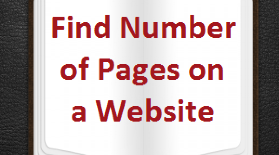 3 Ways to Find Number of Pages on a Website