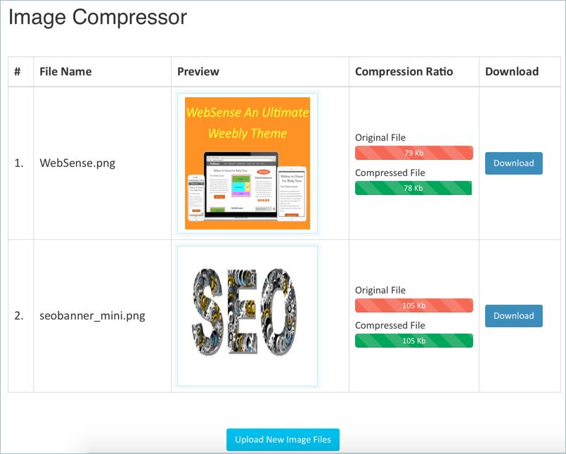 Image Compressor Tool