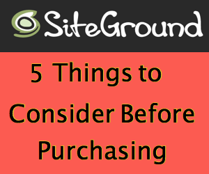 5 Things to Check Before Buying SiteGround WordPress Hosting