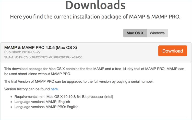 mamp pro 307 serial key