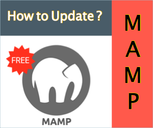 How to Update MAMP to New Version on Localhost?