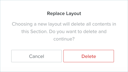 Replacing Existing Header Layout