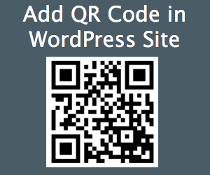 How to Create QR Code for Your WordPress Site?