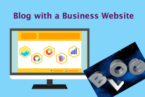 Blog with a Business Website