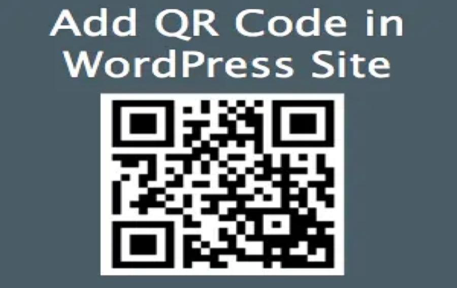Generate QR Code for WordPress