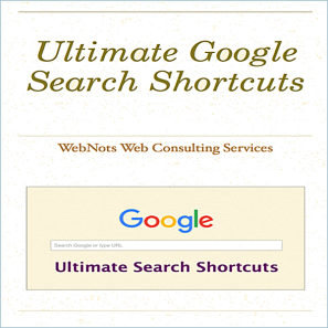 Google Search Shortcuts Guide