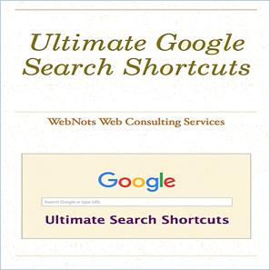 Google Search Shortcuts Guide