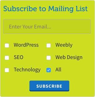 how to add subscribers to list segments in mailchimp