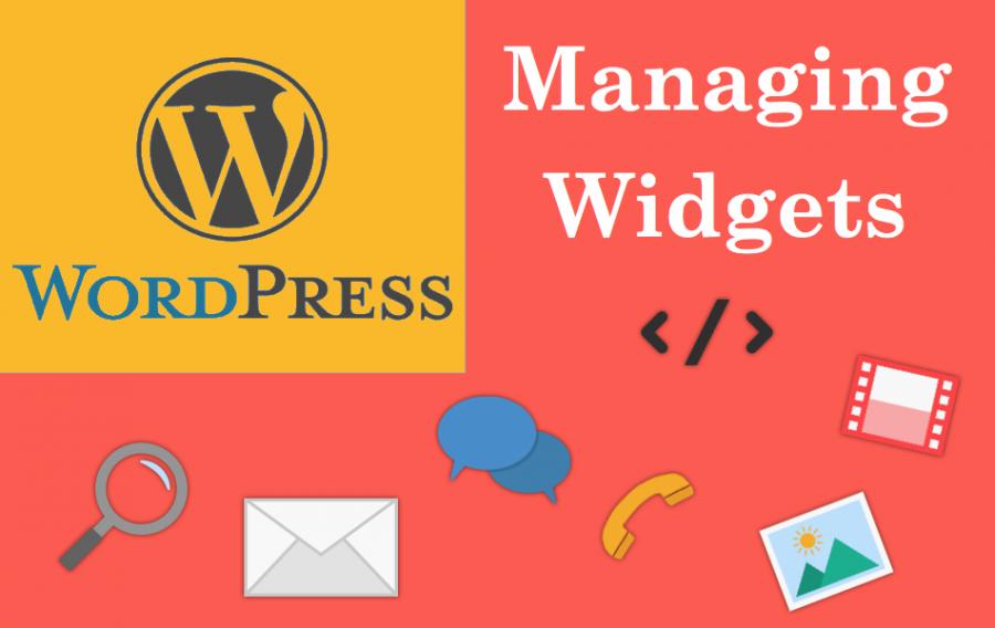 Managing Widgets in WordPress