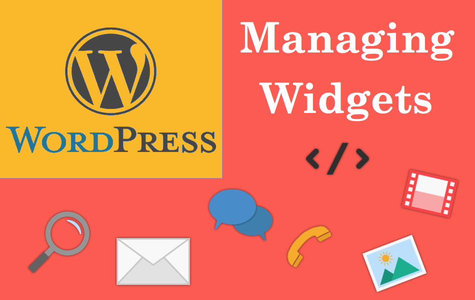 Managing Widgets in WordPress Site