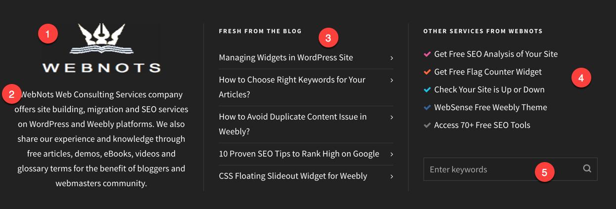 WordPress Widget Examples