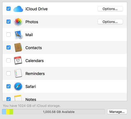 Auto Backup Mac Files on iCloud