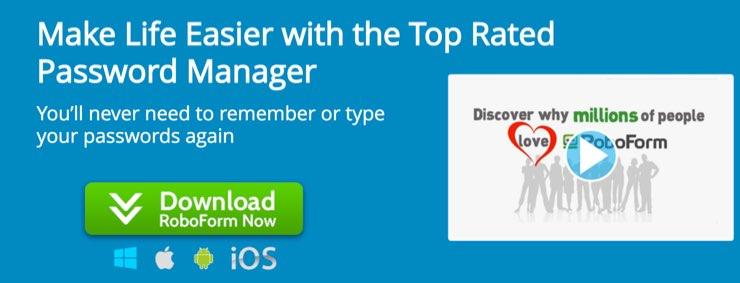 RoboForm Password Manager Tool