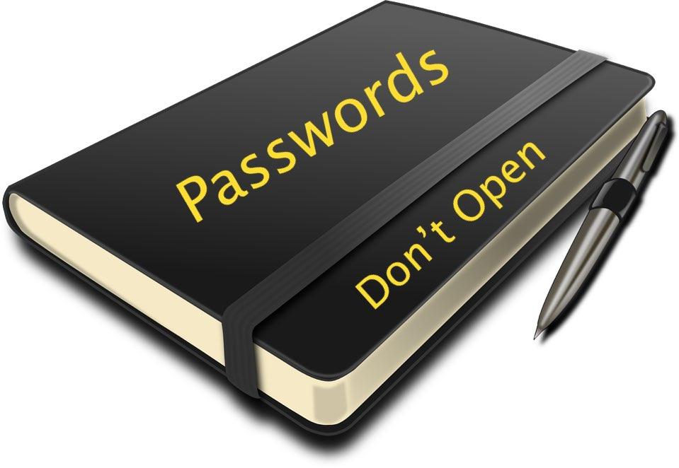Saving Passwords in Notebook