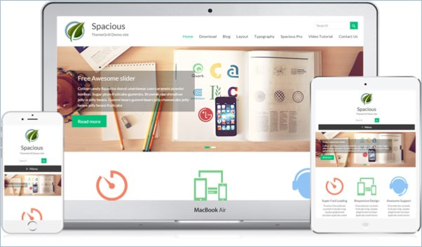 No 4 – Spacious WordPress Theme