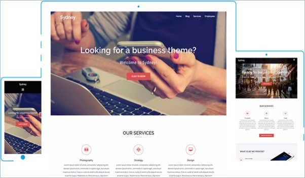 No 8 – Sydney WordPress Theme