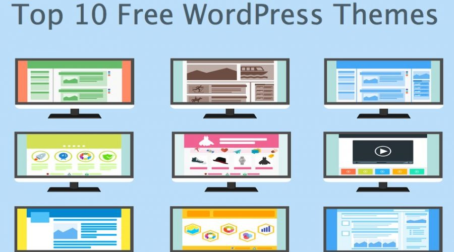 Top 10 Free WordPress Themes (2019)