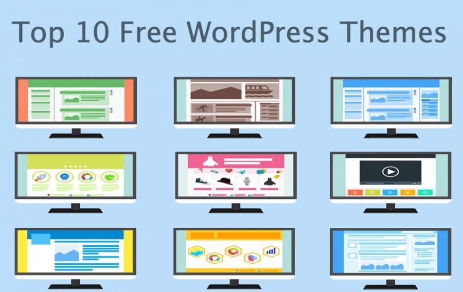 Top 10 Free WordPress Themes (2020)