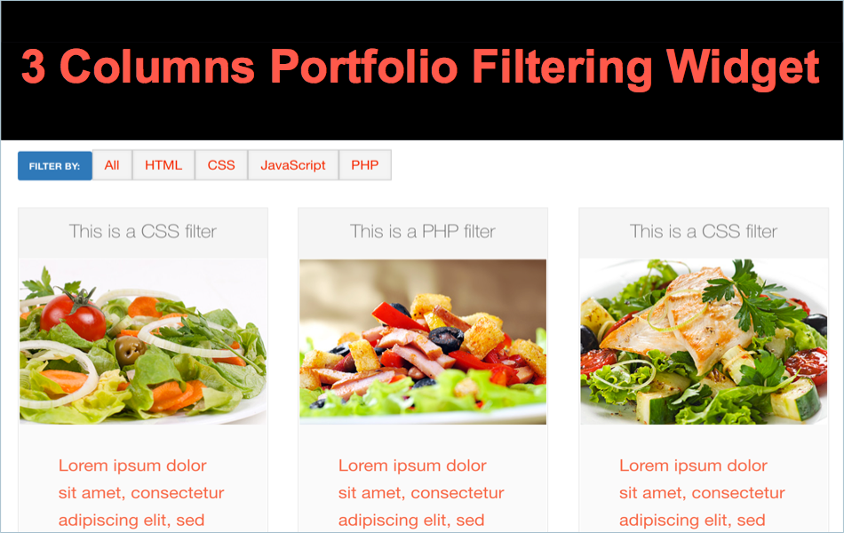 Free Image Filtering Widget for Weebly