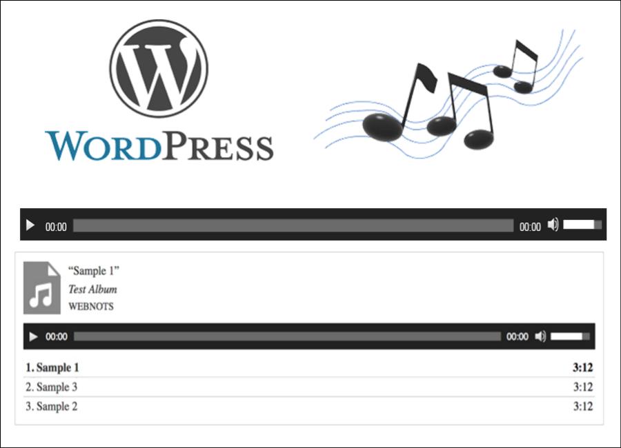 Add Audio Player in WordPress