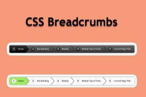 CSS Breadcrumbs