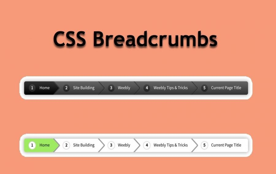 How to Add Breadcrumbs in Weebly Site?
