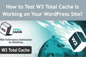 How to Check W3 Total Cache is Working on Your WordPress Site?