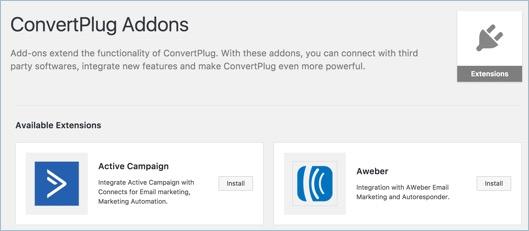 ConvertPlug Addons