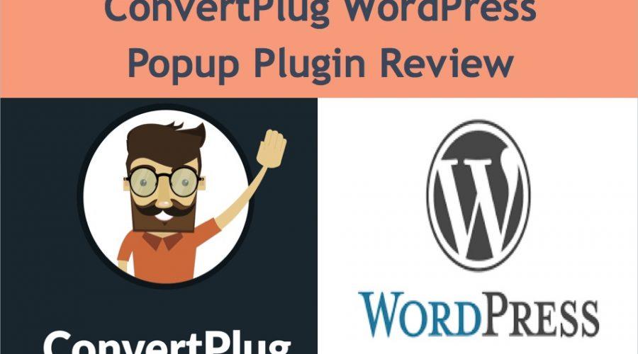 ConvertPlug WordPress Plugin Review