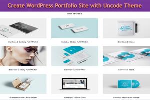 Create WordPress Portfolio Site with Uncode Theme