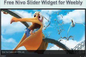 Free Nivo Slider Widget for Weebly