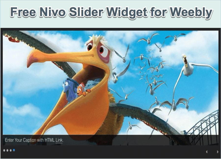 Free Nivo Slider Widget for Weebly