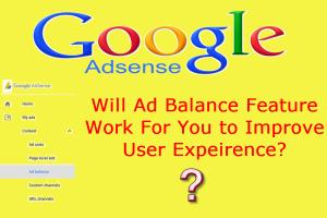 Google AdSense Ad Balance Feature