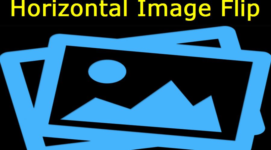 CSS Horizontal Flip Image Widget