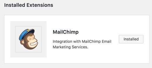 MailChimp Addon for ConvertPlug