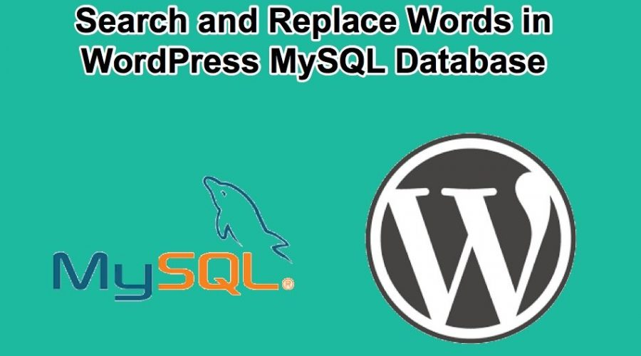 3 Ways to Search and Replace MySQL Database in WordPress
