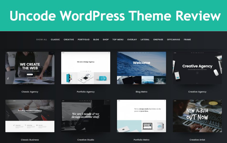 Uncode WordPress Theme Review