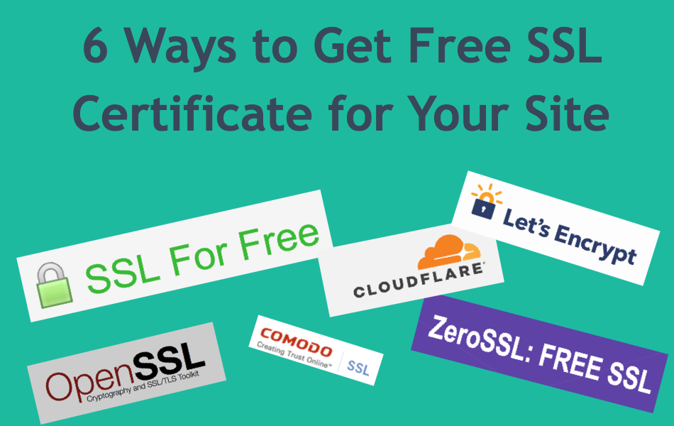 6 Ways To Get Free Ssl Certificate For Your Site Webnots