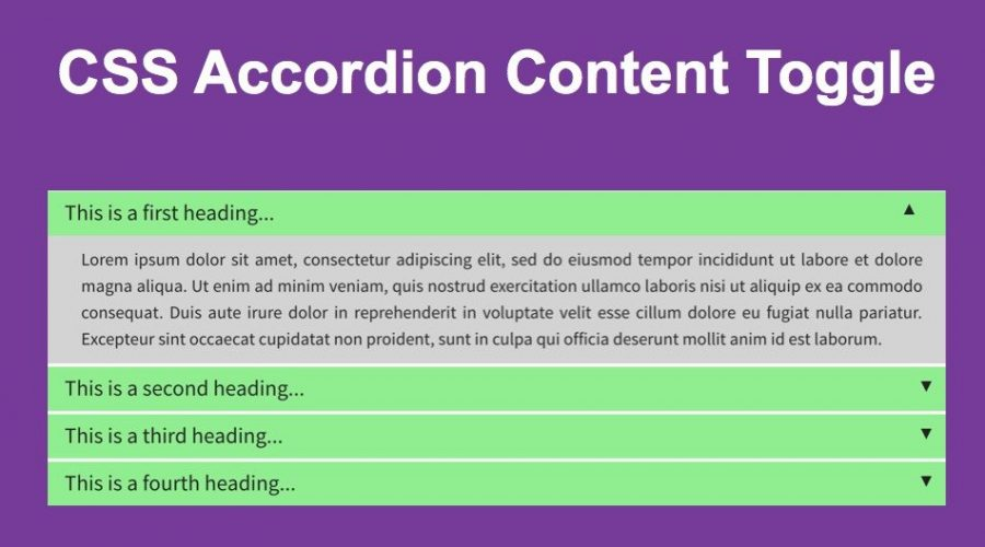 CSS FAQ or Accordion Widget for Weebly Site
