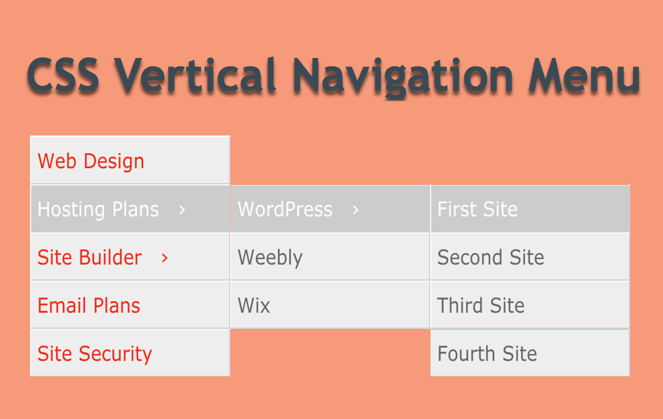 How to Add Vertical Navigation Menu in Weebly Site