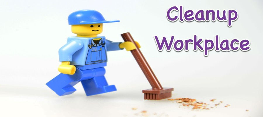 Cleanup Workplace