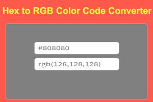 Color Code Converter