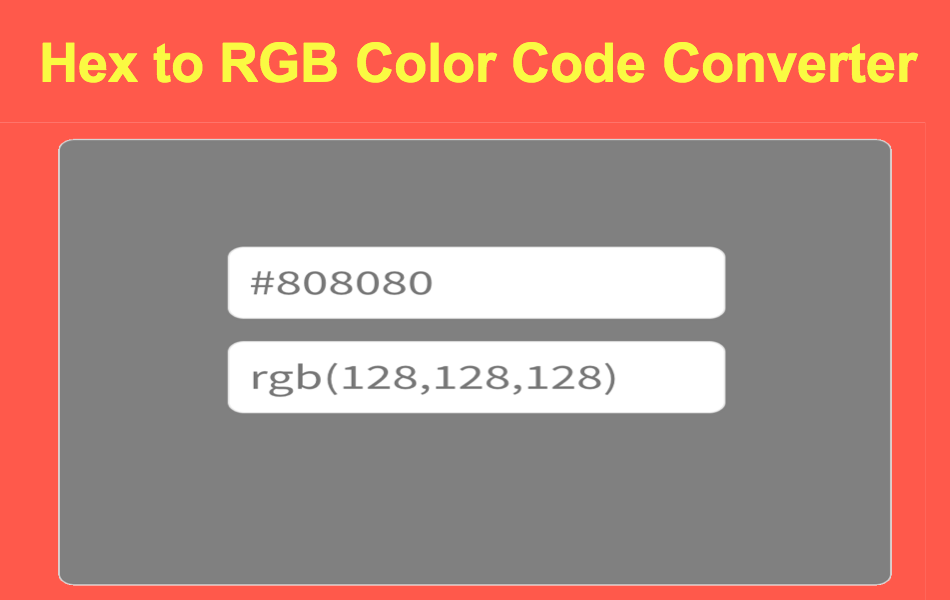 Color Converter and Color Picker Tools