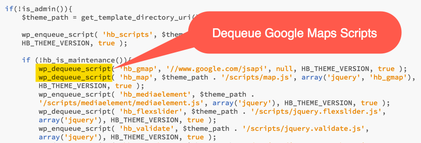 Dequeue Unnecessary Scripts in Highend WordPress Theme
