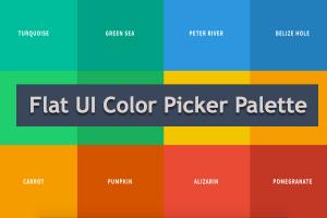 Flat UI Color Picker Palette