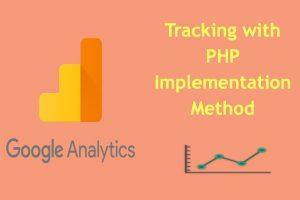 Google Analytics PHP Implementation Method